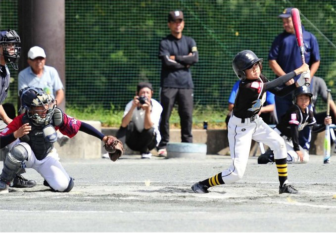 <峡北新人少年野球>泉、大量得点で連覇