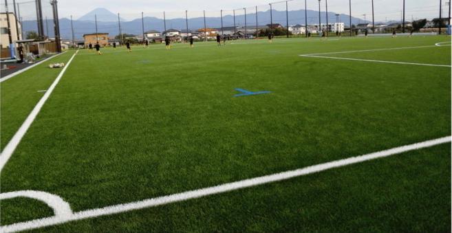 ピッチ、進む芝生化 県高校サッカー
