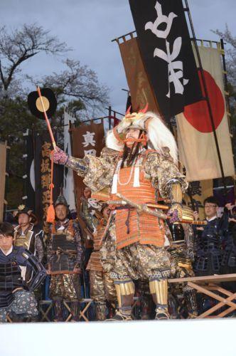 信玄公祭り、甲州軍団が出陣【地...