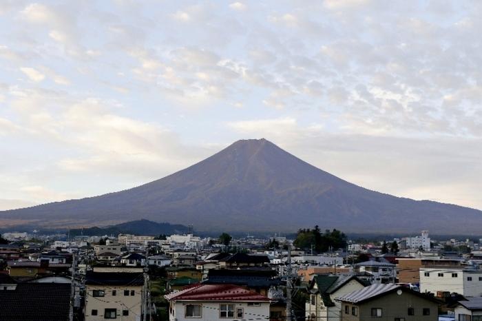 【きょうの富士山】